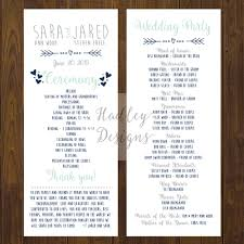 wedding programs exles wedding programs wedding ceremony programs wedding program ideas