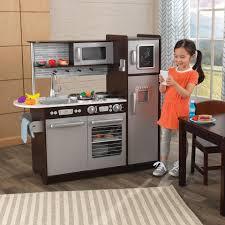 kidkraft modern espresso kitchen kidkraft uptown espresso kitchen 53260 kitchen remodel cabinet