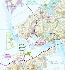 Fau Map Hongkong Zhuhai Macao Bridge Hzmb Tuen Mun Chek Lap Kok Link