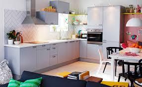 cuisine applad ikea ikea faktum applad grey color wall cabinets kitchen