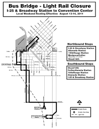 Colorado Convention Center Map by Rtd News