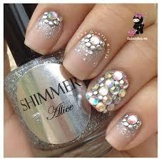 fabulous rhinestone nail art tutorial perfect for parties free