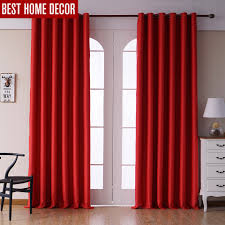 online get cheap living room curtains red aliexpress com