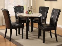 Best Leather Chairs Dining Room Table Sets Leather Chairs Dining Room 25 Best Ideas