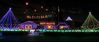 mr christmas light show it s 7 p m on thanksgiving time to light up mr christmas house
