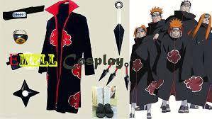 Naruto Halloween Costume Compare Prices Akatsuki Halloween Costume Shopping Buy