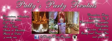 party rentals bakersfield ca patty s party rentals home
