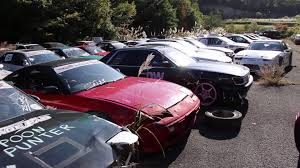 japanese drift cars drift car graveyard aka the missile farm ebisu circuit japan