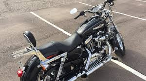 2012 harley davidson sportster 1200 custom for sale near