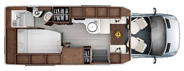 florr plans serenity floorplans leisure travel vans