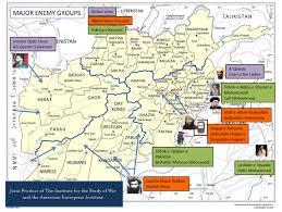 Study Of Maps Major Enemy Groups In Afghanistan Institute For The Study Of War