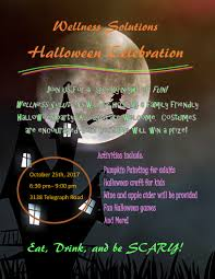 wellness solutions halloween celebration the backstoppers inc