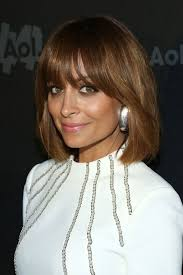 picture of nicole s hairstyle from days of our lives the hair you must see today nicole richie s brunette bob with