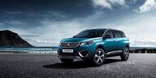 peugeot auto wallpaper peugeot 5008 paris auto show 2016 crossover blue