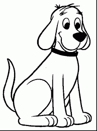 superb butler bulldog coloring pages with clifford the big red dog