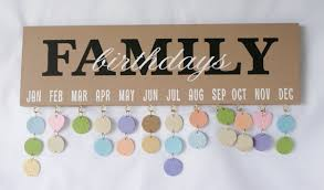 birthday signing board family birthday board birthday calendar birthday sign
