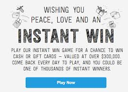 instant win gift cards paypal instant win win and gift cards