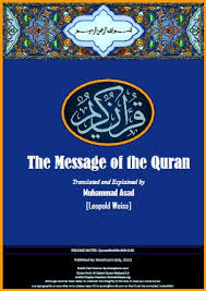 muhammad asad the message of the quran quran pdf files quran text pdf fonts scanned mushafs