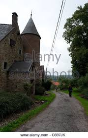 big farm house big farm house in haltinne ardennes belgium stock photo royalty
