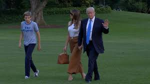 melania and barron trump move into white house wgn tv