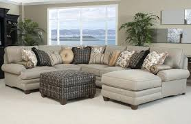 small sectional sofa with chaise jessa place denim piece leather