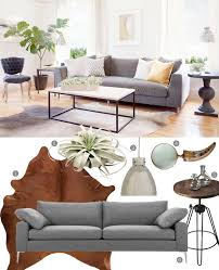 Cowhide Rs A Calm Cool And Collected Living Room
