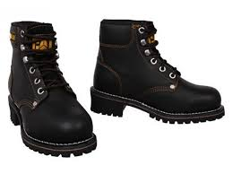 womens caterpillar boots nz womens caterpillar cat logger leather steel toe cap safety work
