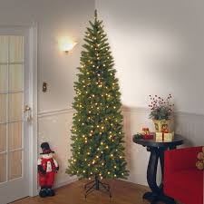 amazon com national tree 7 5 foot kingswood fir pencil tree with