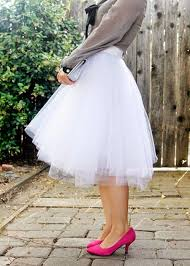 how to make tulle skirt diy skirts