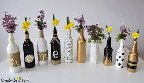 Wine Bottle Home Decor Diy Glass Bottle Home Decor U2013 3 Simple Ideas Creativity Hero