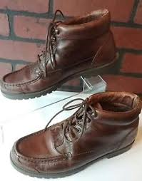 womens brown leather boots size 9 sport brown leather boots womens size 9 1 2 med lace up