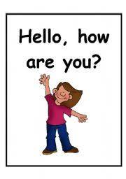 to meet you simple greetings