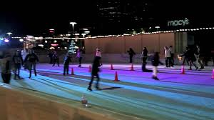 woodland hills ice outdoor holiday ice rink youtube