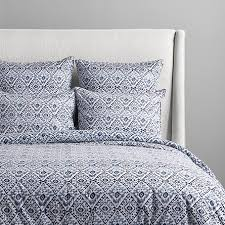 morocco printed queen duvet arhaus furniture