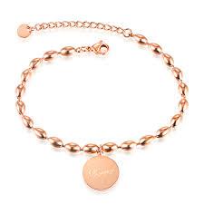 stainless steel gold bracelet images Wholesale stainless steel rose gold bracelets for women jc jpg