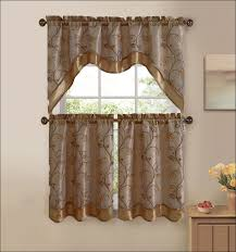Cafe Curtain Pattern Kitchen Retro Cafe Curtains Kitchen Window Coverings Ideas