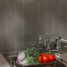 Aspect X Glass Backsplash Tile In Leather - Aspect backsplash tiles