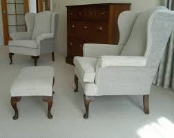 contemporary new look for wing chairs victoriagayleinteriors