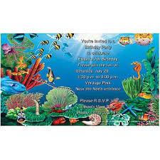 ocean party invitations cimvitation