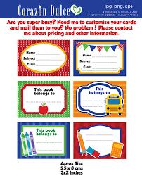 printable book labels ks2 back to school labels printable school labels tags book labels