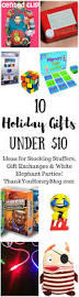 holiday gifts under 10