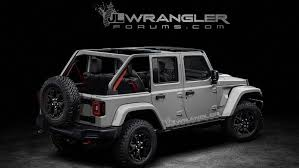 Jeep Wrangler 2018 Jeep Wrangler Owners Manual Leaked Ahead Of Suv U0027s Reveal