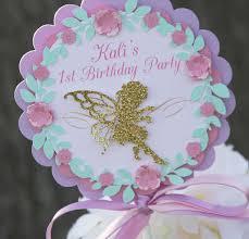 fairy party centerpieces fairy centerpiece sticks 1st