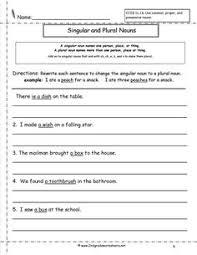 plural nouns worksheet 2nd grade let u0027s explore pinterest