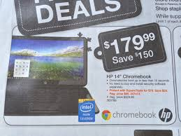 chromebook black friday 2017 gigaom black friday deal two hp chromebook 14 options for 100
