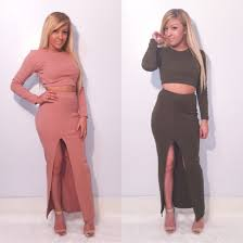 dress two piece two piece olive green pink black slit