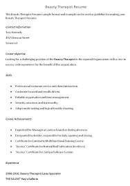 resume examples for massage therapist remarkable basic resume