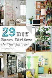 open office desk dividers remodelaholic 29 creative diy room dividers for open space plans
