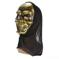 Halloween Skeleton Pattern by Halloween Costume Scary Skeleton Mask And Lifelike Donald Trump