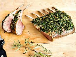 herb roasted rack of lamb my clean kitchen